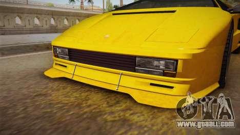 GTA 5 Pegassi Infernus Classic for GTA San Andreas back view