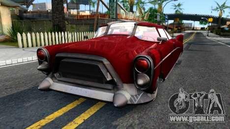 XNA Corvega Fallout 4 for GTA San Andreas
