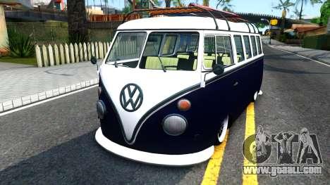Volkswagen Transporter T1 Stance V2 for GTA San Andreas