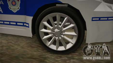 Fiat Punto Gai for GTA San Andreas back view