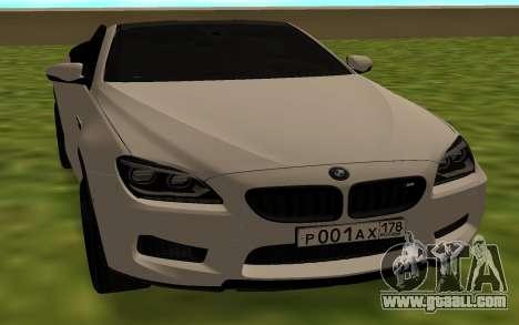 BMW M6 F13 Cabrio for GTA San Andreas