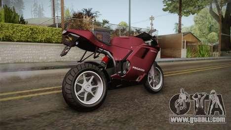 EFLC TLaD Pegassi Bati 801 v2 for GTA San Andreas left view