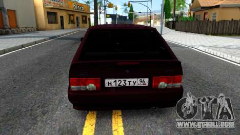 VAZ 2113 for GTA San Andreas back left view