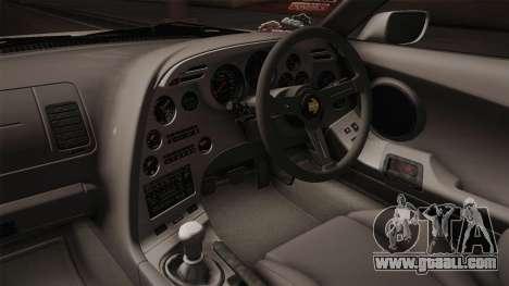 Toyota Supra 8Pralift for GTA San Andreas inner view