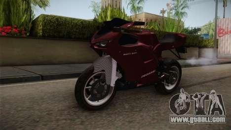 EFLC TLaD Pegassi Bati 801 v2 for GTA San Andreas right view
