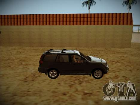 Great Wall Hover H2 for GTA San Andreas back view