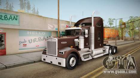 Kenworth W900 ATS 6x2 Middit Cab Normal for GTA San Andreas