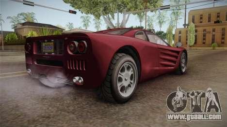 GTA 5 Progen GP1 for GTA San Andreas left view