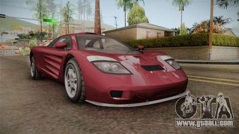 GTA 5 Progen GP1 for GTA San Andreas