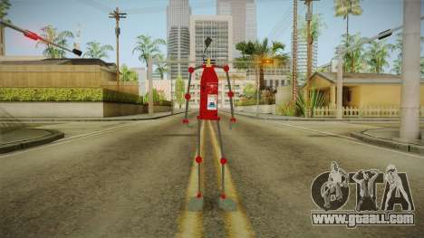 A fire extinguisher for GTA San Andreas second screenshot
