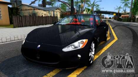 Maserati GranTurismo 2008 for GTA San Andreas