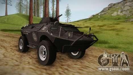 GTA 4 EFLC TBOGT - APC for GTA San Andreas