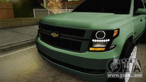 Chevrolet Tahoe GT Stance Bass Booster for GTA San Andreas side view