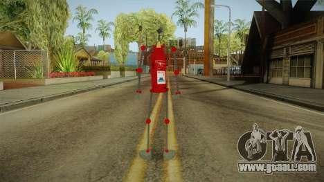 A fire extinguisher for GTA San Andreas third screenshot