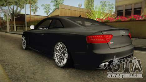 Audi RS5 for GTA San Andreas back left view