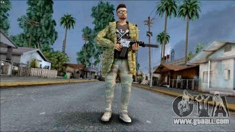 SKIN GTA ONLINE DLC for GTA San Andreas