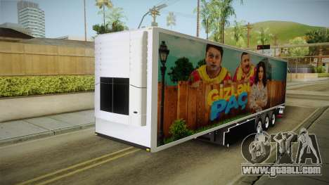 Gizden Qac Trailer for GTA San Andreas right view