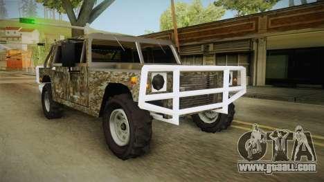 New Patriot Hummer for GTA San Andreas