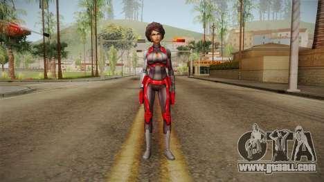 Marvel Future Fight - Misty Knight for GTA San Andreas second screenshot