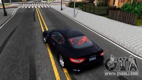 Maserati GranTurismo 2008 for GTA San Andreas back view