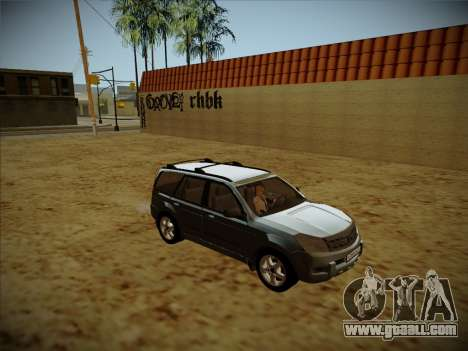 Great Wall Hover H2 for GTA San Andreas inner view