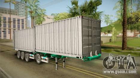 Trailer Container v1 for GTA San Andreas right view