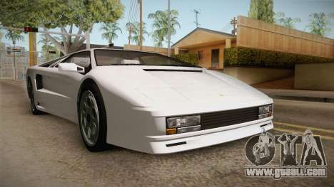 GTA 5 Pegassi Infernus Classic for GTA San Andreas right view