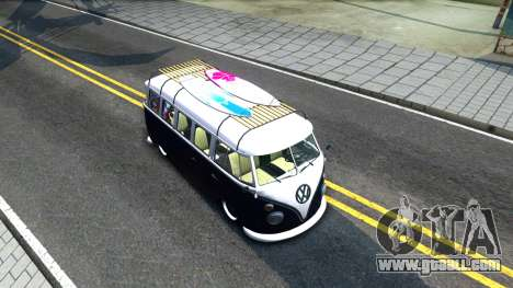 Volkswagen Transporter T1 Stance V2 for GTA San Andreas right view