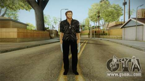 Logan in Black for GTA San Andreas second screenshot