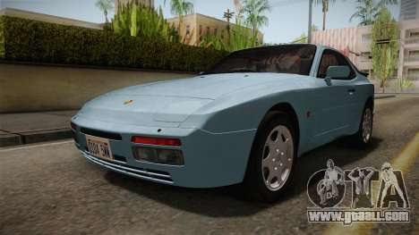 Porche Turbo for GTA San Andreas right view