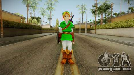 Hyrule Warriors - LINK (Ocarina Oftime) for GTA San Andreas second screenshot