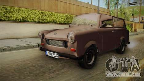 Trabant 601 Kombi for GTA San Andreas right view