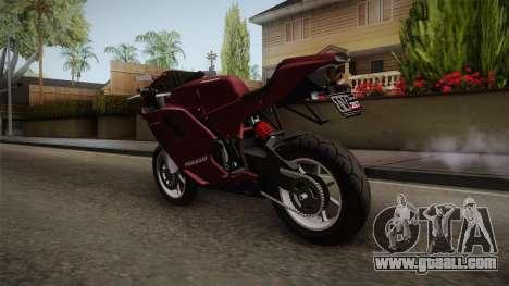 EFLC TLaD Pegassi Bati 801 v2 for GTA San Andreas back left view