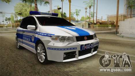 Fiat Punto Gai for GTA San Andreas