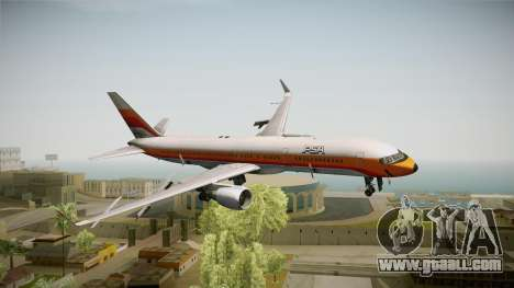 Boeing 757-200 Pacific Southwest Airlines for GTA San Andreas back left view