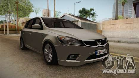 Kia Ceed for GTA San Andreas right view