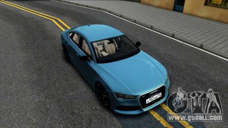 Audi RS7 Sportback for GTA San Andreas right view