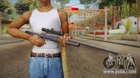 Survarium - Remington 700 for GTA San Andreas third screenshot