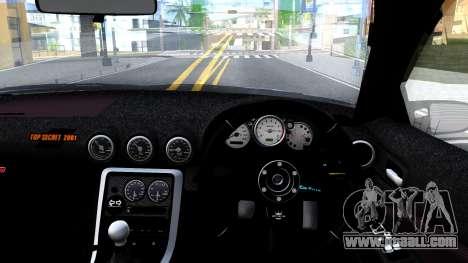Nissan Silvia S15 for GTA San Andreas inner view