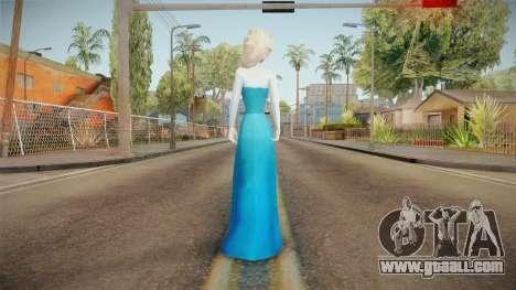 Frozen - Elsa v3 No Cape for GTA San Andreas third screenshot