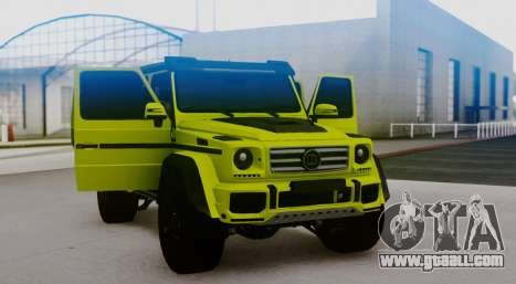 Mercedes-Benz G63 4x4 for GTA San Andreas back left view