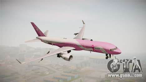 Boeing 757-200 Northwest Airlines Breast Cancer for GTA San Andreas