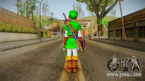Hyrule Warriors - LINK (Ocarina Oftime) for GTA San Andreas third screenshot