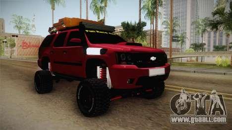 Chevrolet Tahoe Semi Offroad VZLA Edition for GTA San Andreas