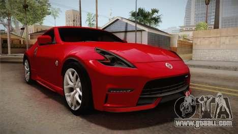 Nissan 370Z Nismo 2016 SA Plate for GTA San Andreas