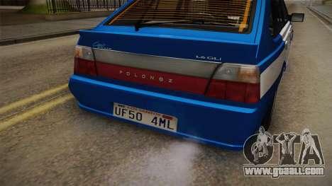 Daewoo-FSO Polonez Caro Plus Policja 2 1.6 GLi for GTA San Andreas side view