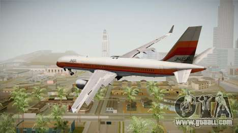Boeing 757-200 Pacific Southwest Airlines for GTA San Andreas left view