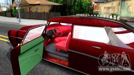 XNA Corvega Fallout 4 for GTA San Andreas inner view