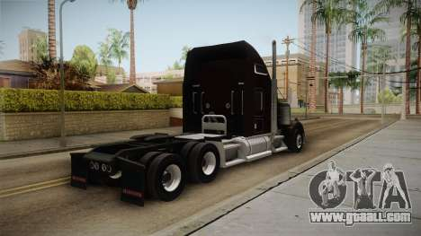 Kenworth W900 ATS 6x2 Middit Cab Normal for GTA San Andreas back left view