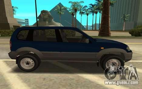 Lada Niva Urban for GTA San Andreas left view